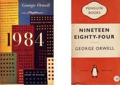 Cover for new edition of Orwell& 1984 is brilliant / Boing Boing Book Cover Design, Book Design, Jacqueline Kennedy Onassis, Beautiful Book Covers, George Orwell, New Edition, Penguin Books, Fall 2016, Digital Illustration