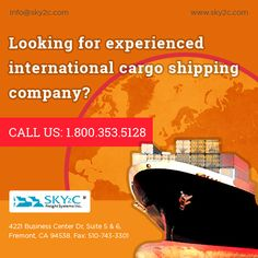 Sky2c Freight Systems provide the services of overseas shipping at very low cost and give you safest delivery on time on your final destination place.