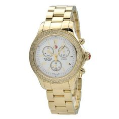 Michele Women's MWW17A000007 Jetway Diamond Bezel Watch Michele. $1495.00. Quartz movement. Water-resistant to 50 M (165 feet). Durable sapphire crystal protects watch from scratches,. Case diameter: 41mm. Gold plated stainless steel watch
