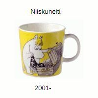 Niiskuneiti Made in Finland-tarralla. Moomin Mugs, Tove Jansson, Marimekko, Finland, 1990, Album, Tableware, Crime, How To Make