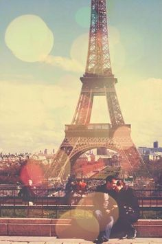 Ohhhh to be in love, and in Paris.