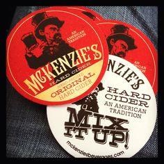 Mckenzie's hard cider. Delicious