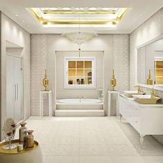 #Interiordesign : Pareti, pavimenti, lavabi e docce in #gresporcellanato