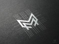 Logo design / M monogram by Reloart