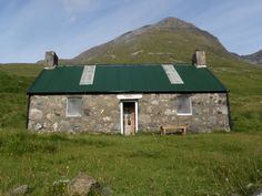 Dibidil Bothy on the Isle of Rum