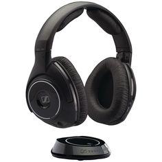 SENNHEISER 502873 Digital Wireless Headphones with Portable Transmitter