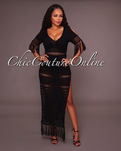 Chic Couture Online - Candace Black See-Thru Crochet Dress,  (http://www.chiccoutureonline.com/candace-black-see-thru-crochet-dress/)
