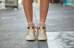 what-do-i-wear:    Giuseppe Zanotti Sneakers(image:songofstyle)