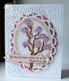 Sweet 'n Sassy Stamps: Sheltering Tree ~ Words of Jesus