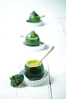 ... vegan zucchini soup ...