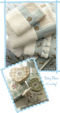 baby boy's shabby and chic bedroom