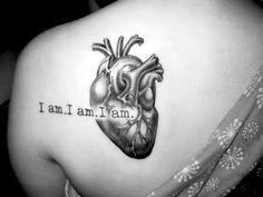 anatomical heart tattoo   Tumblr