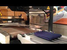 Dobladora de camisetas M400 Autimak (made with Videoshop) #videoshop - YouTube