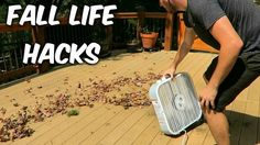 Leaves can clog up your gutters in the fall and cause serious problems if you don't take preventative measures. This DIY extension made of PVC piping will fit on a leaf blower or Shop-Vac, and blow the leaves out of the gutter without you having to climb up too high.