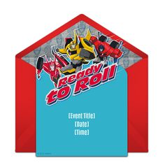 60 best transformers birthday images on pinterest in 2018 free robots in disguise ready to roll invitations birthday invitation templatesboy birthday invitationsinvitation cardstransformers maxwellsz