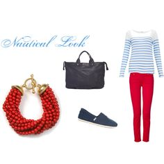 Nautical Look, created by camerynelizabeth on Polyvore