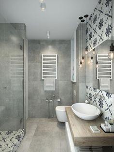 idee deco petite salle de bain contemporaine