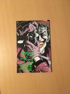 Batman The Killing Joke (1988) 1-1ST FN+ Batman Comics, Joker, Scene, Marvel, Animation, Prints, Jokers, Printed, Animation Movies