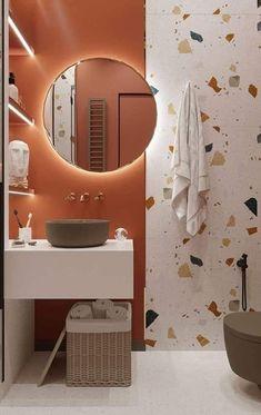 Simple Bathroom Designs, Modern Bathroom Design, Bathroom Interior Design, Small Toilet Design, Bathroom Organisation, Bathroom Styling, Home Decor Bedroom, Room Decor, Bathroom Inspiration