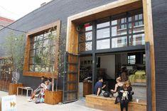 10 Unique Coffee Shop Designs In Asia Retail Facade, Shop Facade, Coffee Shop Bar, Coffee Shop Design, Coffee Shops, Restaurant Facade, Restaurant Design, Facade Design, Architecture Design