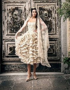 Wedding dress Reflection collection gown and photo courtesy of Elisabetta Delogu