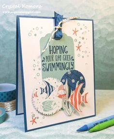 Stampin' Up Seaside Shore card