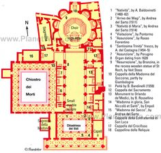Florence santa maria novella floor plan map http www for Top rated floor plans