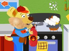 Alex The Handyman Lite - Kids Educational App ($0.00) The Bear family is having a number of household repair work jobs such as a leaky tap, broken fence, unfinished brick wall and many more. They have called the talented 'Alex The Handyman' to fix these issues for them. Explore the house to view the different rooms. All the rooms have different jobs to be done. Select the right tool for a particular job from the toolbox and learn how a tool operates and sounds.