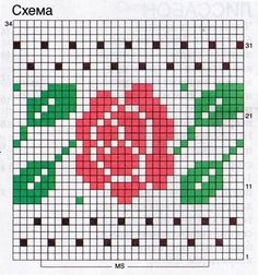 Rose Mochila pattern