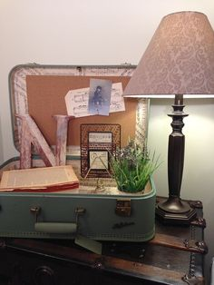 How to Re-line a Vintage Suitcase