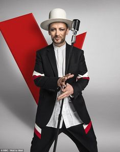 Speaking his mind: He's set to join the new series of The Voice as a judge and Boy George has said he won't be holding back when it comes to offering words of advice to his contestants
