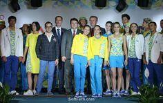 Ukraine team        Dress to Impress: Rio Olympics the teams' uniforms. ... 41  PHOTOS        ... What the leading athletes in Rio will be wearing? Look at the photos        More details:         http://softfern.com/NewsDtls.aspx?id=1108&catgry=3            #SoftFern News, #uniform, #Rio Olympics, #designers, #uniforms, #Fashion, #Rio Olympics the teams' uniforms
