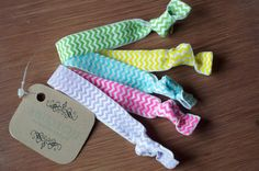 chevron hair ties Hopscotch, Elastic Hair Ties, Ponytail, Chevron, Boutique, Clothes, Hair Tie, Outfits, Clothing