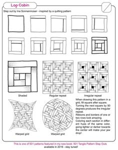 Now that we have successfully published our 4th book, it is time to continue with my original project: 501 Tangle Pattern Step Outs I started the book a couple of months ago and then decided to do ...