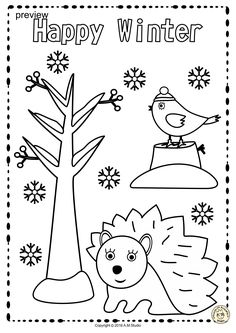 This .pdf file includes 25 Winter themed Tracing and