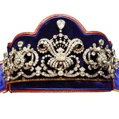 The Hohenberg Tiara: Feast your eyes on the magnificent Hohenberg tiara! It was made in 1915 by Koc - a.tiara.a.day