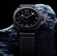 La Cote des Montres : La montre Panerai LAB-ID™ Luminor 1950 Carbotech™ 3 Days – 49mm – PAM00700- Une montre révolutionnaire où passé et futur se conjuguent
