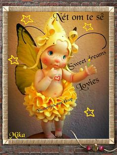 Good Night Sleep Tight, Goeie Nag, Good Night Messages, Afrikaans Quotes, Night Pictures, Morning Greeting, Sweet Dreams, Tinkerbell, Disney Characters