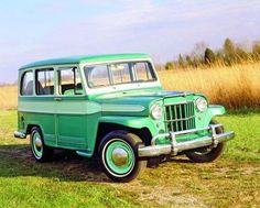 1962 Willys wagon... now can't decide if I want a late '40s model or an early '60s - Willys made this same basic car throughout that period.
