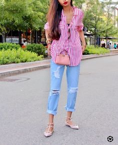Flat Shoes Outfit, Summer Outfits 2017, Peplum, Spring Summer, Stay Classy, Streetwear, Tops, Women, Style