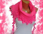 Knitted Scarf Baby Pink, woman scarf. Personalized Design. Latest Fashion. scarf, neckwarmer, scarflette...