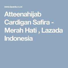 Atteenahijab Cardigan Safira - Merah Hati , Lazada Indonesia