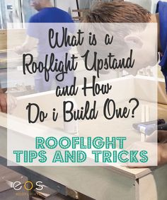 All rooflights need to be fitted on a upstand or kerb. This can be purchased via your rooflight supplier or you can construct your own.
