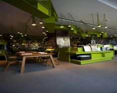 Kubrick Bookshop and Cafe Design