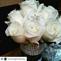 Roses and bling Rat Pack Party