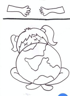 Professora Tati Simões: 22 ideias para o Dia Mundial da Água Earth Craft, Earth Day Crafts, Earth Day Drawing, Idees Cate, Earth Day Projects, Green School, Earth Day Activities, Mothers Day Crafts For Kids, Camping Crafts