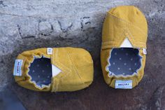 Quality Sewing Tutorials: TOMS-Inspired Baby and Toddler Shoes by Leisha of Homemade Toast