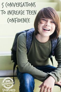 5 Conversations to Increase Confidence in Teens Raising confident teens is an important goal as we raise our kids. These 5 conversations help to increase teen confidence. Talk to your teens! Raising Teenagers, Parenting Teenagers, Parenting Advice, Parenting Classes, Parenting Styles, Parenting Quotes, Increase Confidence, Positive Parenting Solutions, Teenage Years