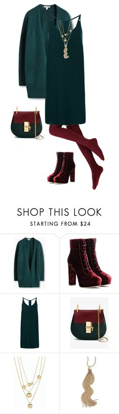 """""""HW11 Drama 2"""" by tanya-liljenfeldt on Polyvore featuring Jimmy Choo, New Look, Chloé, Talbots and Kenneth Jay Lane"""
