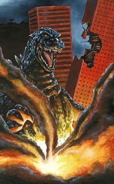 11x17 Godzilla Print